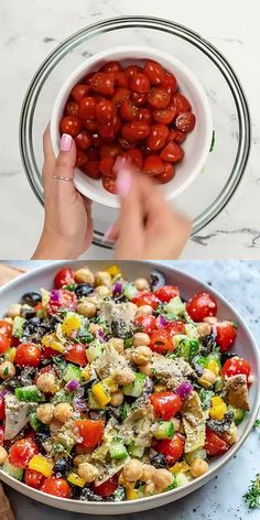 Vegetarian Salad Recipes, Lunch Recipes, Healthy Dinner Recipes, Tasty Vegetable Recipes, Dinner Salad Recipes, Plant Based Dinner Recipes, Healthy Vegetarian Dinner Recipes, Healthy Delicious Recipes, Easy Healthy Meals