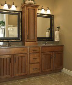 Charmant Bathroom Design And Remodeling Ideas | Photo Gallery | Bath, Kitchen U0026 Tile  Center  . Bathroom Vanity CabinetsBathroom ...