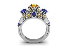 Victorian Style Modern Wedding Engagement or Valentine's by VOLISA, $1000.00