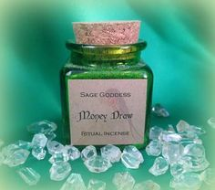Money Draw Ritual Incense  Herbs Resins & Oils by TheSageGoddess, $18.00