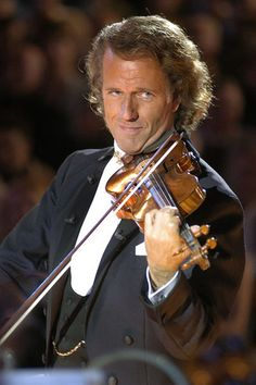 I enjoy listening to and watching Andre Rieu perform.  Such an amusing entertainer.  Oh, to be his violin.