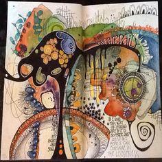 Create daily lustful art journals in 2019 искусство коллажа, рисунки, худож Artist Journal, Art Journal Pages, Art Pages, Art Journals, Kunstjournal Inspiration, Art Journal Inspiration, Pintura Graffiti, Illustration Art Nouveau, Art Tumblr