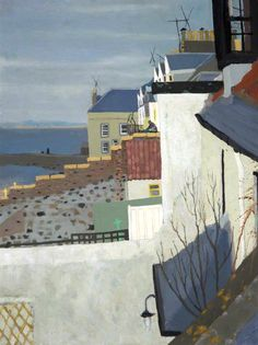 Seaside houses (Frances Walker)