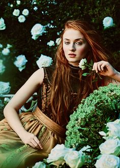 """I didn't even tell my mum about the first auditions, but by the final audition in London, I said to myself, """"I'll die if I don't get this part. I just know Sansa too well. I can't not get it."""" —- Sophie Turner for Town and Country (March 2015)"""