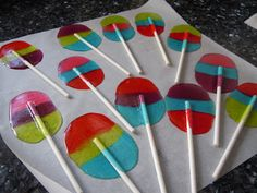 Joni Loves To Cook: Jolly Rancher Lollypops