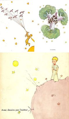The Little Prince, written and illustrated by Antoine de Saint-Exupéry.