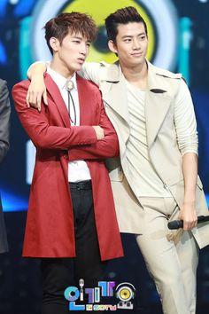 2pm Jun. K and Taecyeon