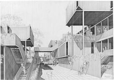 Fort Lincoln Housing, by Paul Rudolph #architecture