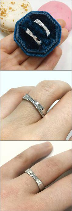 Matching white gold wedding bands. Wedding ring, wedding bands, gols rings, wedding, jewelry.