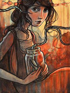 Kelly Vivanco makes amazing paintings.