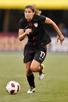 Tobin Heath. such a strong women of faith. and a bad ass soccer player