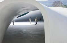 The Teshima Art Museum catches its visitors off guard. It calls itself a museum, but its exhibition space is very far from the traditional view of architecture for museums, with their masses of jumbled objects and works of art. In fact, on Teshima Island visitors are left alone to contemplate an experience with nature made of light, water and air.
