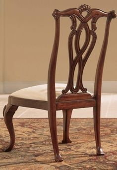 American Drew Cherry Grove Side Chair - Set of 2 by NewAir Appliances. $840.00. Stationary. Queen Anne style features fiddle backs and cabriole legs and those make the American Drew Cherry Grove Side Chair quintessentially traditional. Gracefully carved details in the scroll work are brought out in the warm antique cherry finish. The cushioned seat is upholstered in neutral fabric. Come in a set of two.One Way Furniture Spotlight Details cathedral cherry veneers alder solids a...