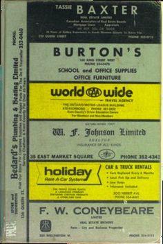 Vernon's city of Chatham (Ontario) directory 1977