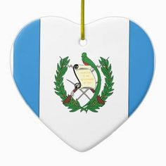 Guatemala Double-Sided Heart Ceramic Christmas Ornament http://www.zazzle.com/guatemala_double_sided_heart_ceramic_christmas_ornament-175516446795097239?rf=238756979555966366&tc=PtMPrssLaOrnament FLAG ORNAMENTS: Holiday Flag Ornaments for your Christmas Tree, Holiday Decor, or Holiday gifting.  Choose from several International Flag Ornament styles and share your national flag with friends and family.  See more at http://www.FlagSwag.com