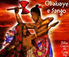 Sango and Obaluaye