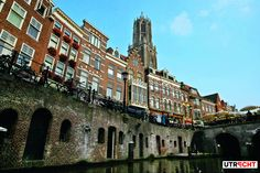 Oude Gracht #Domtower #Utrecht