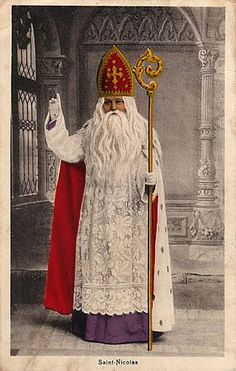 The origin of the St. Nicholas tradition goes back to Bishop Nicholas of Myra in Lycia (Turkey). Little solid historical information is known about Nicholas except that he was Bishop of Myra and died around A.D. 350.