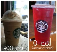 Starbucks frap vs passion tea