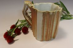 Ceramic mug by Lauren Young on sale on etsy.