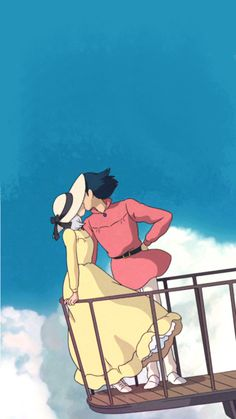 The wonderful world of Studio Ghibli Studio Ghibli Art, Studio Ghibli Movies, Studio Ghibli Characters, Totoro, Studio Ghibli Background, Howl And Sophie, Japon Illustration, Anime Scenery, Animes Wallpapers
