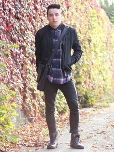 Checks and Bomber by nevernotinspired on STYLIGHT