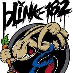 Blink-182 favourite logo: bunny, so oooold school!