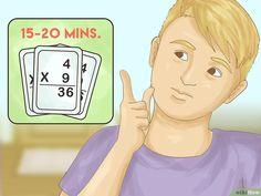 Come Imparare le Tabelline: 17 Passaggi (Illustrato)