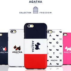 Genuine AGATHA Silicon Bumper Case iPhone SE Case iPhone 5/5S Case 6 Types Case #AGATHAParis