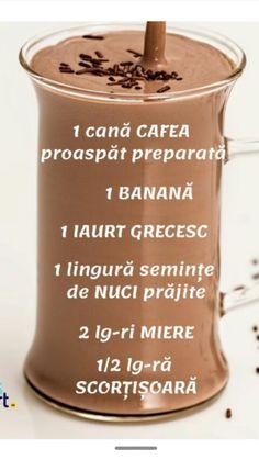 Bio Food, Frappe, Milkshake, Smoothies, Food And Drink, Pudding, Bar, Drinks, Cooking