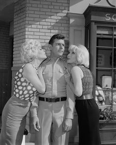 Still of Jean Carson, Andy Griffith and Joyce Jameson in The Andy Griffith  Show.