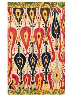 Ikat Hand-Tufted Rug (5x8) by Safavieh on Gilt Home