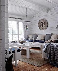 A beautiful lake cottage by Krista Keltanen photography Decor, House, Cottage, Lake Cottage, Home, Interior, Home Furniture, Home Decor, Home Furnishings