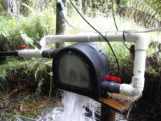 Micro hydro water turbine