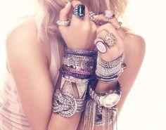 .bracelets & rings are <3