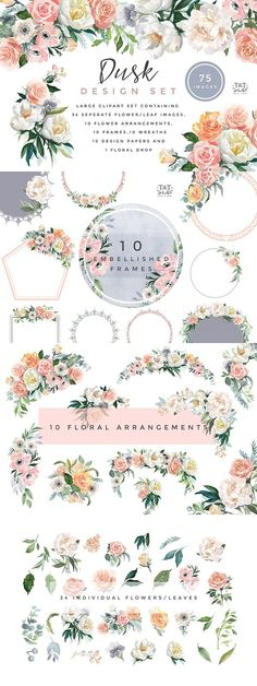 Free Blue Crush Watercolor Floral Elements: If you recall on yesterday's free unicorn silhouettes post, I mentioned a gorgeous set of peaches and cream floral set by Twigs and Twine that just captivated my graphics loving heart and I just need to share with you all! Well, as I was browsing around her gorgeous store.. I...Read More »