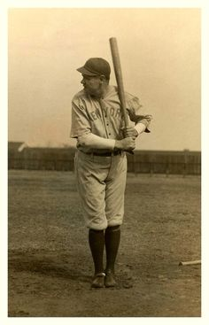 Babe Ruth - NY Yankees (1920) In his first Yankees uniform.
