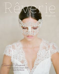 Beautiful Reverie cover shot by Elizabeth Messina