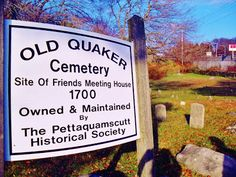 Old Quaker Cemetery, South Kingstown, Rhode Island