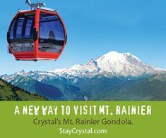 crystal peak gondola, washington | Cascade Mountains Washington Map - Go Northwest! A Travel Guide