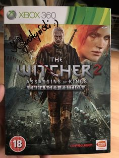 Bought a second hand copy of the Witcher 2 & it's signed does anyone know who by?