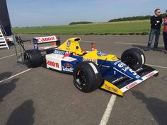 Williams FW13B F1 car to join 2015 Goodwood Festival of Speed (4)