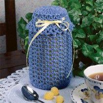 Country Jar Cover Crochet ePattern