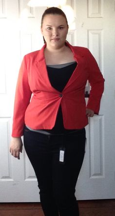Stitchfix #1 This Kensie Rebekah Stretch Crepe Blazer is something my mother loved on me, and I have to admit the color surprised me- I have mostly cool tones in my closet and was pleasantly surprised how good this looked. Unfortunately I don't really wear blazers. $88 is just too much to spend on something that is going to sit in my closet. I love the idea of this, but my practical side won out. Maybe in the future! But not today. :( #Returned