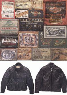 Vintage Leather Labels