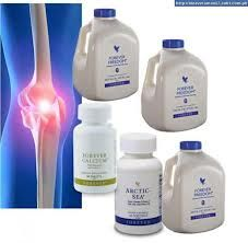 All Natural and Organic  aloe vera, Forever Freedom contains glucosamine and chondroitin to help relieve the pain in your joints.