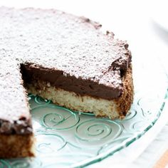 What's for dessert? Coconut + Chocolate Cake.