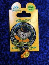 Hong Kong Disneyland Halloween 2016 Duffy LE500 Glow in the dark disney pin