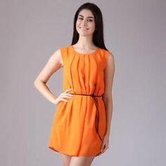 Sleeveless Pleated Chiffon Dress from #YesStyle <3 YiGelila YesStyle.com