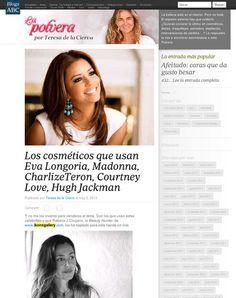 Ikonsgallery.com: Los cosméticos de los famosos en La Polvera